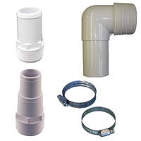 Pvc Pipe Fittings Hose Connectors Couplings Valves Clamps