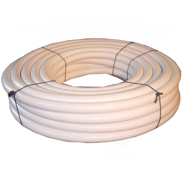 White Flexible PVC Pipe