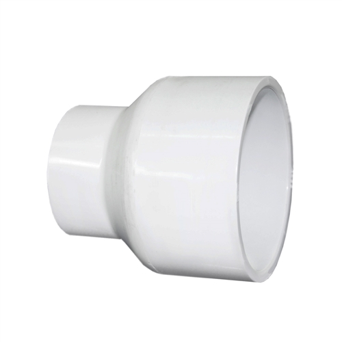 Slip reducer coupling for schedule pvc pipe