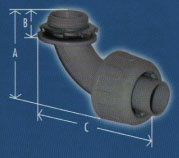 Conduit Angle Fitting Diagram