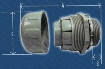 Liquid Tight Conduit Straight Fittings